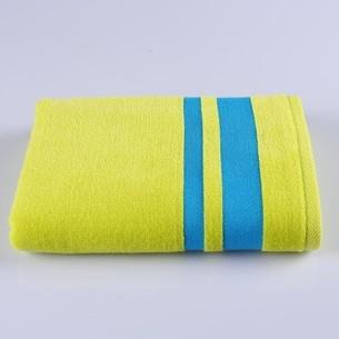 Набор полотенец для ванной 12 шт. Ozdilek NEON хлопковая махра зелёный 50х90