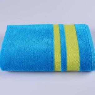 Набор полотенец для ванной 3 шт. Ozdilek NEON хлопковая махра синий 87х170