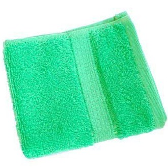 Набор полотенец для ванной 12 шт. Ozdilek PRESTIJ хлопковая махра зелёный