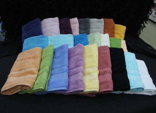 Набор полотенец для ванной 12 шт. Ozdilek PRESTIJ хлопковая махра светло-серый 70х140, фото, фотография