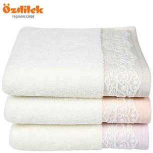 Набор полотенец для ванной 6 шт. Ozdilek SAREN хлопковая махра сиреневый 50х90
