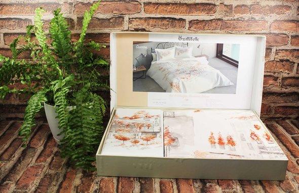 Постельное белье Ozdilek ART MERCAN SUENOS хлопковый сатин евро, фото, фотография