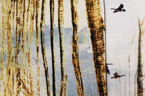 Постельное белье Ozdilek ART VILLAGE хлопковый сатин евро, фото, фотография
