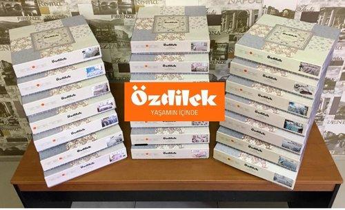 Постельное белье Ozdilek GRAND LUISA хлопковый ранфорс мятный евро, фото, фотография