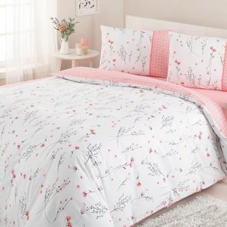 Постельное белье Ozdilek MODALETTO TREND EDINA хлопковый ранфорс розовый
