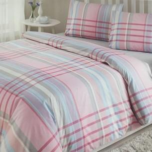 Постельное белье Ozdilek MODALETTO TREND ROBERTO хлопковый ранфорс розовый 1,5 спальный