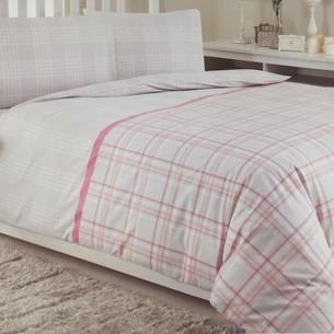 Постельное белье Ozdilek MODALETTO TREND SCOUT хлопковый ранфорс лиловый 1,5 спальный