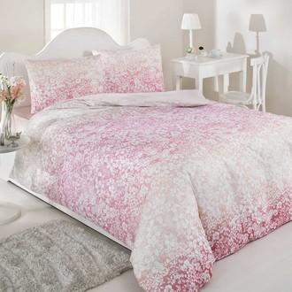 Постельное белье Ozdilek MODALETTO TREND SUNDOWN хлопковый ранфорс розовый