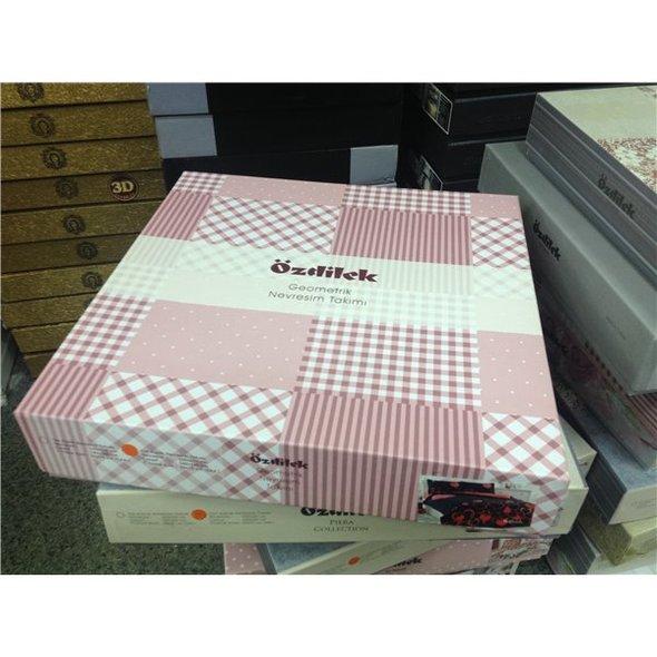 Постельное белье Ozdilek RANFORCE MILENA хлопковый ранфорс 1,5 спальный, фото, фотография