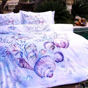 Постельное белье Ozdilek RANFORCE AQUA хлопковый ранфорс мятный 1,5 спальный