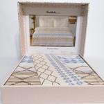 Постельное белье Ozdilek RANFORCE MOROCCO хлопковый ранфорс синий 1,5 спальный, фото, фотография