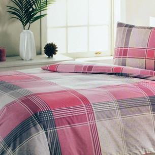 Постельное белье Ozdilek RANFORCE ROXIN хлопковый ранфорс розовый 1,5 спальный