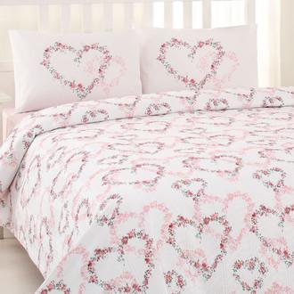Постельное белье Ozdilek RANFORCE SIMONA хлопковый ранфорс розовый