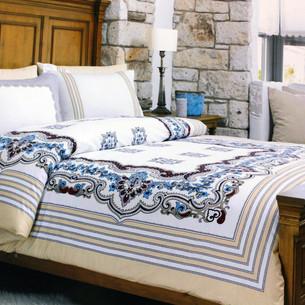 Постельное белье Ozdilek RANFORCE TERRA хлопковый ранфорс 1,5 спальный