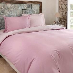 Постельное белье Ozdilek RANFORCE COLORMIX хлопковый ранфорс розовый 1,5 спальный