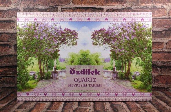 Постельное белье Ozdilek QUARTZ LES ROSES хлопковый ранфорс евро, фото, фотография
