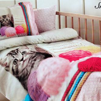 Детское постельное белье в кроватку для новорожденных Ozdilek QUARTZ SMOOTHIE хлопковый ранфорс розовый