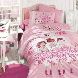 Детское постельное белье Istanbul Home Collection GENC RANFORCE DANCER хлопковый ранфорс 1,5 спальный