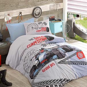 Детское постельное белье Istanbul Home Collection GENC RANFORCE GRAND PRIX хлопковый ранфорс 1,5 спальный