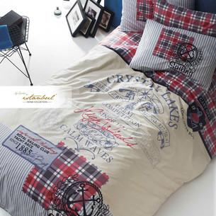 Детское постельное белье Istanbul Home Collection GENC RANFORCE ROUTE хлопковый ранфорс 1,5 спальный