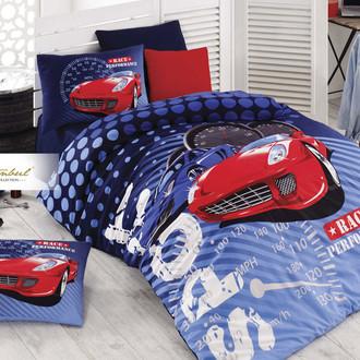 Детское постельное белье Istanbul Home Collection GENC RANFORCE SPORT RACE хлопковый ранфорс
