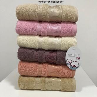 Набор полотенец для ванной 6 шт. Cestepe VIP COTTON MODAL SOFT хлопковая махра