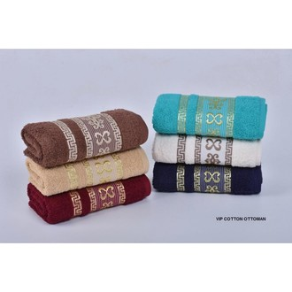 Набор полотенец для ванной 6 шт. Cestepe VIP COTTON OTTOMAN хлопковая махра