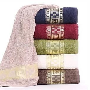 Набор полотенец для ванной 6 шт. Cestepe VIP COTTON DAMA GREK хлопковая махра 50х90