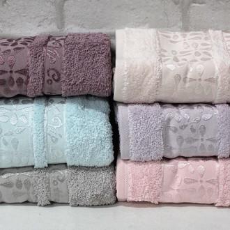 Набор полотенец для ванной 6 шт. Cestepe VIP COTTON ECE хлопковая махра