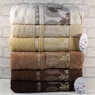 Набор полотенец для ванной 6 шт. Cestepe VIP COTTON FOREVER хлопковая махра