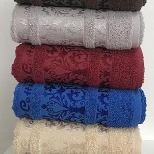 Набор полотенец для ванной 6 шт. Cestepe VIP COTTON HAYAL хлопковая махра 50х90