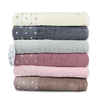 Набор полотенец для ванной 6 шт. Cestepe VIP COTTON INCI хлопковая махра