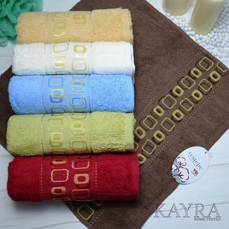 Набор полотенец для ванной 6 шт. Cestepe VIP COTTON KAREOKI хлопковая махра