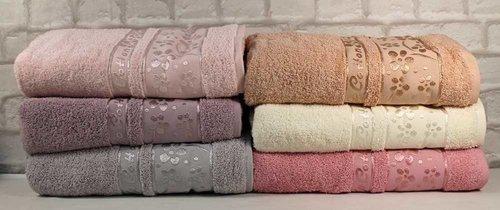 Набор полотенец для ванной 6 шт. Cestepe VIP COTTON ORKIDE хлопковая махра 70х140, фото, фотография