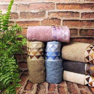 Набор полотенец для ванной 6 шт. Cestepe VIP COTTON PIRAMIT хлопковая махра 50х90