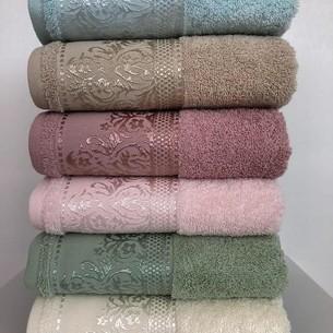 Набор полотенец для ванной 6 шт. Cestepe VIP COTTON SARA хлопковая махра 70х140