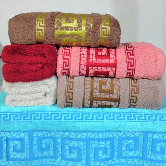 Набор полотенец для ванной 6 шт. Cestepe VIP COTTON TUNAY хлопковая махра