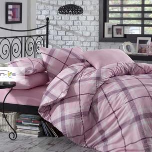 Постельное белье Istanbul Home Collection COTTON LIFE TERRY ранфорс розовый евро