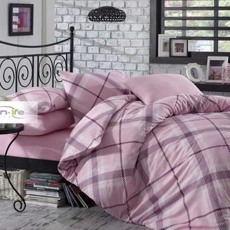 Постельное белье Istanbul Home Collection COTTON LIFE TERRY ранфорс розовый