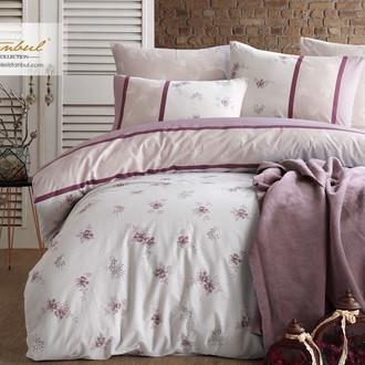 Постельное белье Istanbul Home Collection RANFORCE LILYUM хлопковый ранфорс лиловый