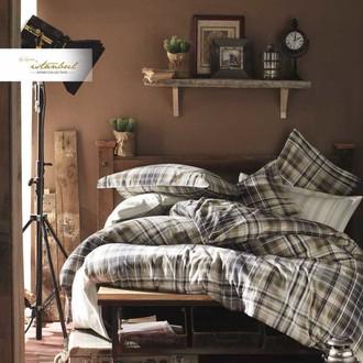 Постельное белье Istanbul Home Collection RANFORCE NORTHWEST хлопковый ранфорс коричневый