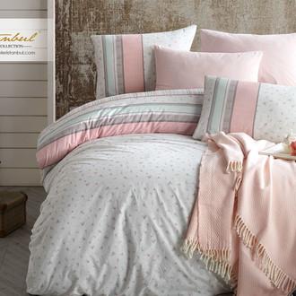 Постельное белье Istanbul Home Collection RANFORCE VIOLETTA хлопковый ранфорс розовый
