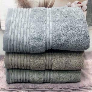 Набор полотенец для ванной 4 шт. Pupilla CATALINA хлопковая махра 50х90