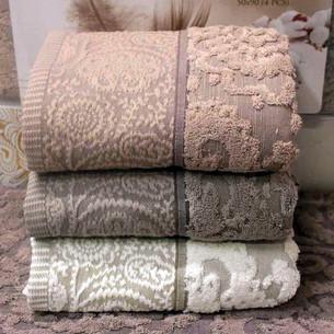 Набор полотенец для ванной 4 шт. Pupilla MONICA хлопковая махра 50х90