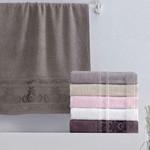 Набор полотенец для ванной 6 шт. Pupilla ANTIK хлопковая махра 50х90, фото, фотография