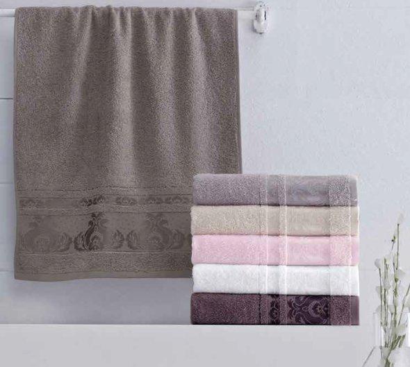 Набор полотенец для ванной 6 шт. Pupilla ANTIK хлопковая махра 70*140, фото, фотография