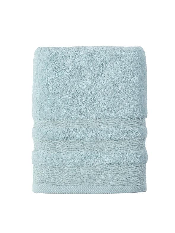 Полотенце для ванной Karna DERIN хлопковая махра ментол 70*140, фото, фотография