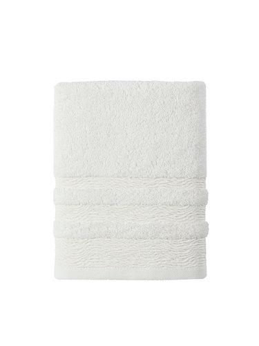 Полотенце для ванной Karna DERIN хлопковая махра кремовый 70х140, фото, фотография
