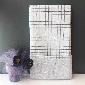 Полотенце для ванной Tivolyo Home NERO хлопковая махра