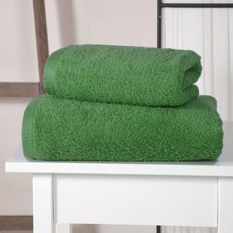 Полотенце для ванной Karna APOLLO хлопковый микрокоттон зелёный